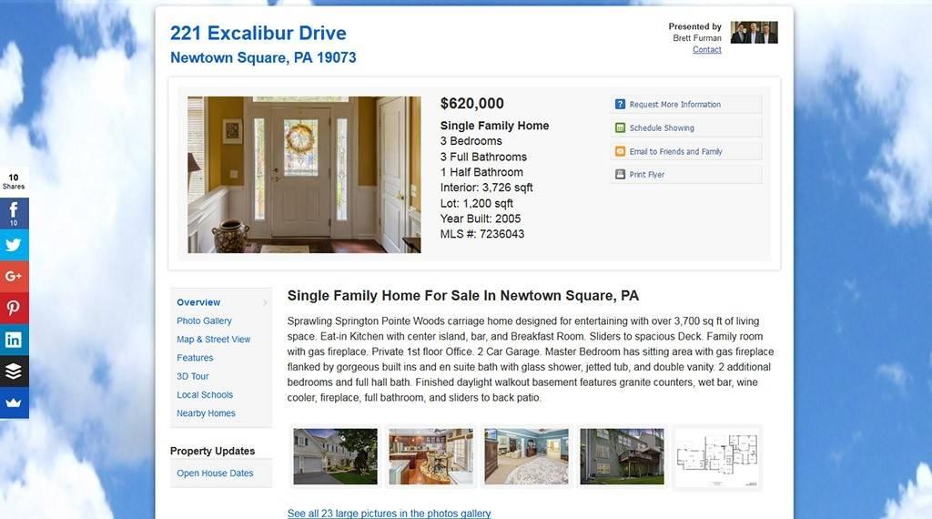 Realbird Website Image - custom website for sellers