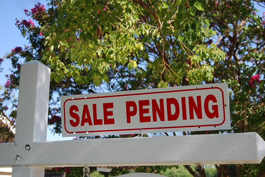 Home Sale Pending