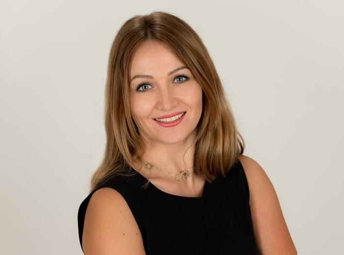 Mila Sokolova headshot
